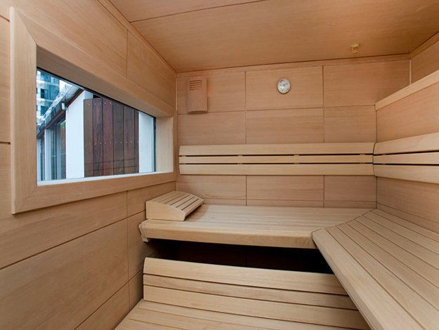 sauna. Black Bedroom Furniture Sets. Home Design Ideas